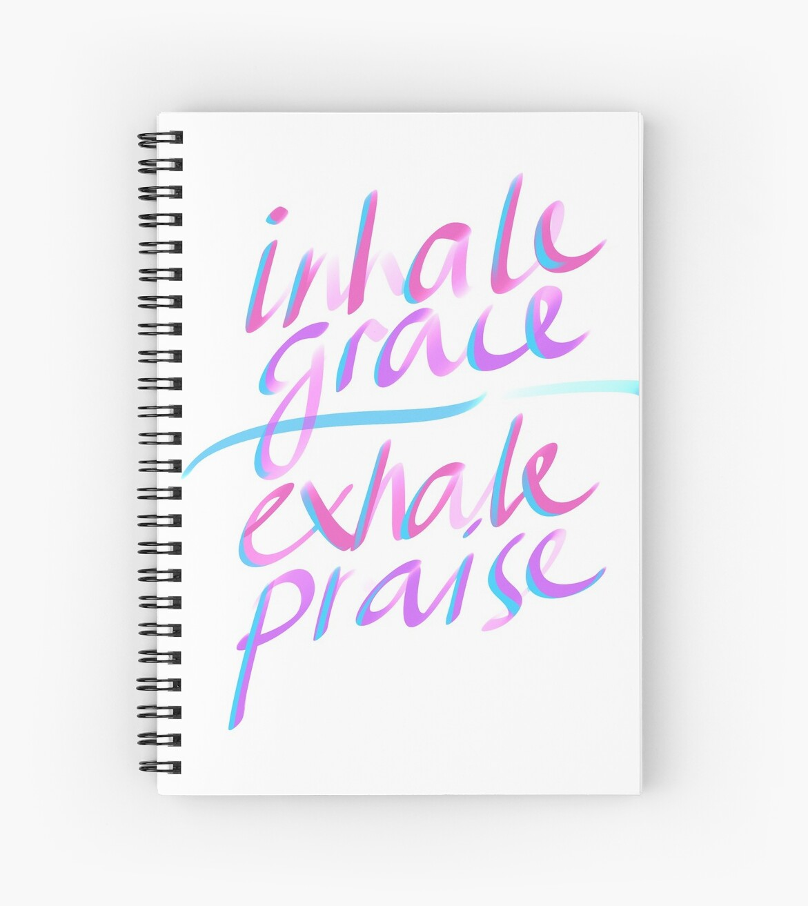 Inhale Grace Exhale Praise Christian Gift by TCC Publishing  by TCCPublishing