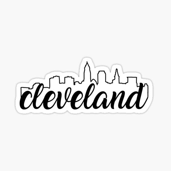 Cleveland Ohio Sticker Sticker