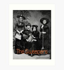 The Sweepers Art Print