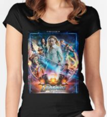 Legends of tomorrow s4 poster Women's Fitted Scoop T-Shirt
