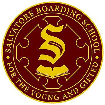 Salvatore Boarding School Crest by BadCatDesigns