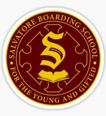 Salvatore Boarding School Crest Sticker
