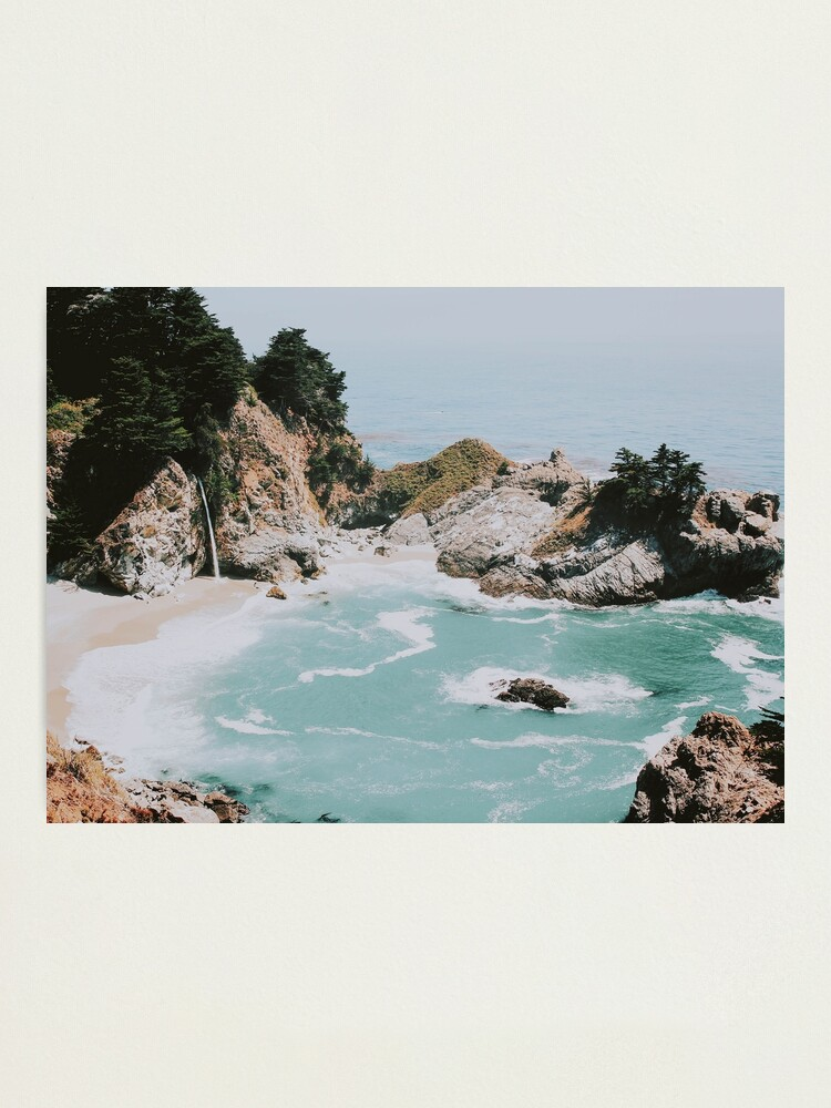 Alternate view of Big Sur, California Photographic Print