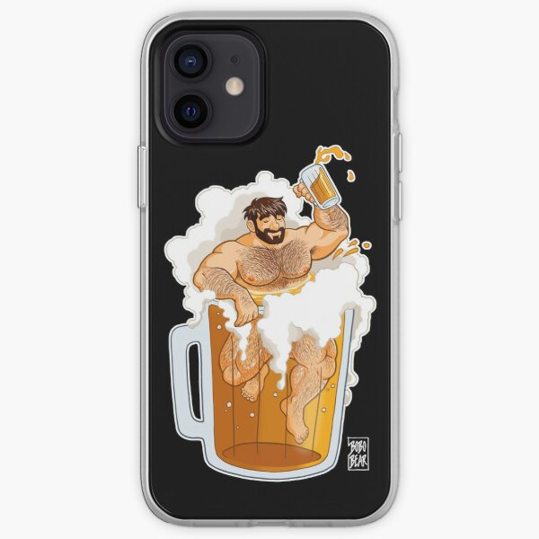 ADAM LIKES A BIG BEER iPhone Soft Case