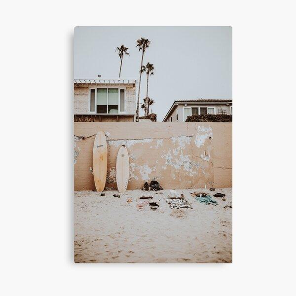 lets surf lxxxii / san diego, california Canvas Print