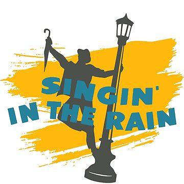 Singing in the Rain by santosblanco
