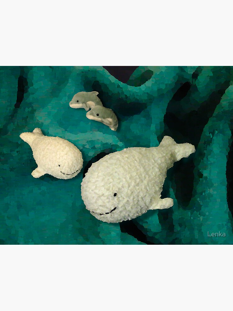 Meeting whales in my children's world by Lenka