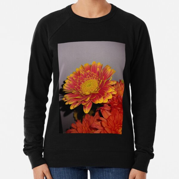Gerbera Flower Lightweight Sweatshirt