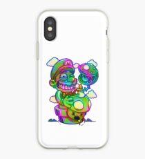 Trippy Mario iPhone Case