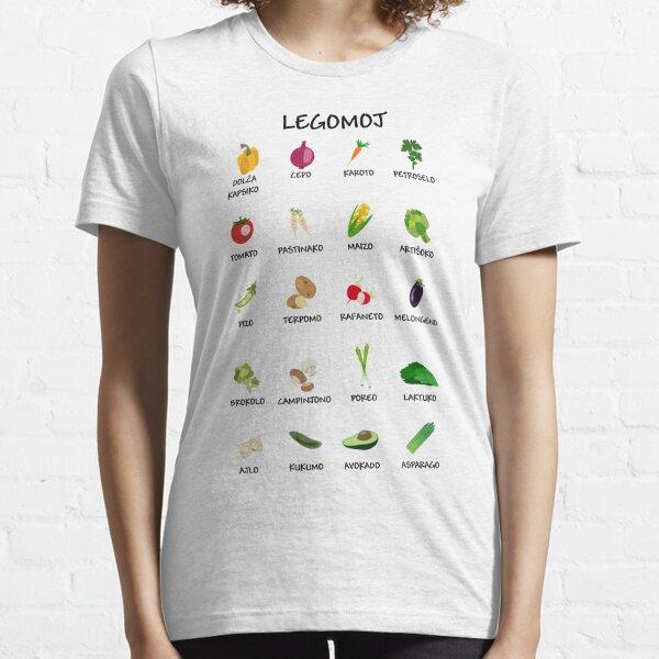 Legomoj - Vegetables in Esperanto Essential T-Shirt
