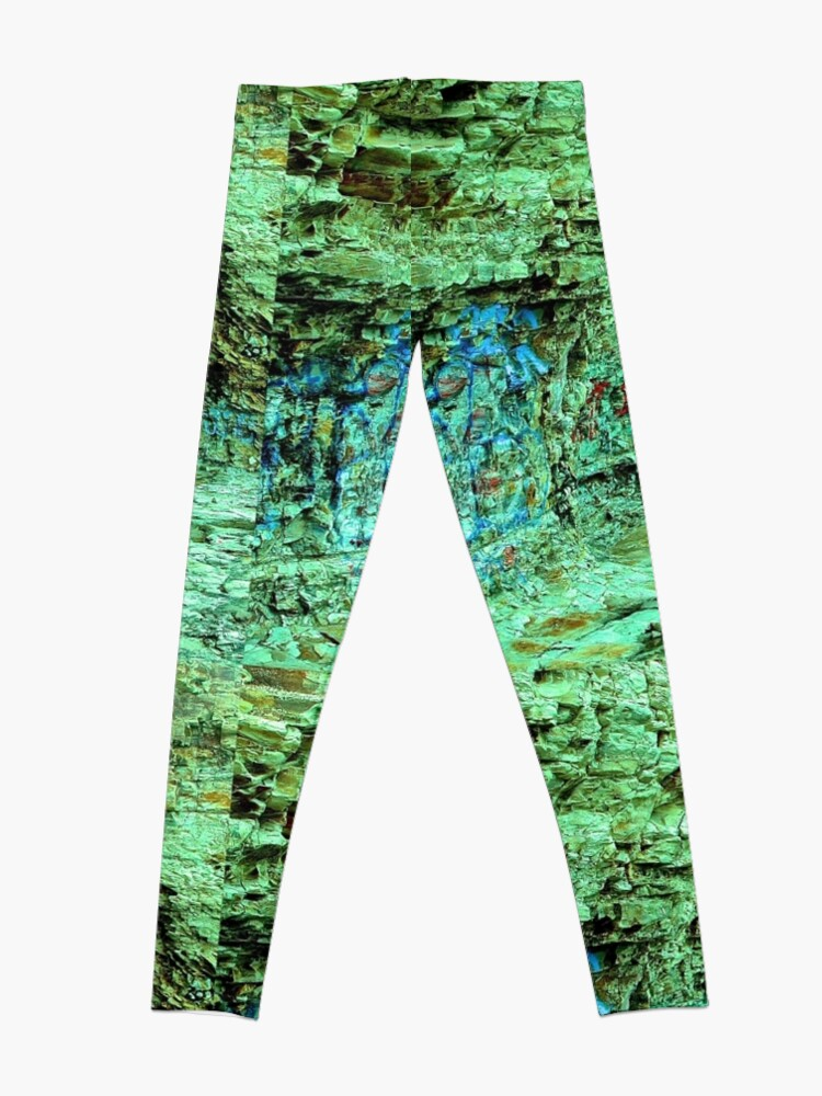 Alternate view of Rocks tagged and textured Leggings