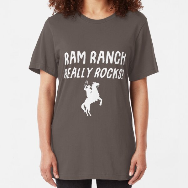 Ram Ranch Really Rocks! Slim Fit T-Shirt