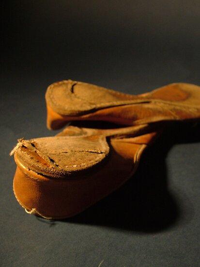 Aladdin's shoes by alexandra jordan