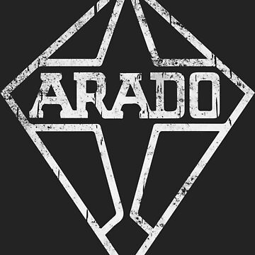 Arado WW2 German Company Logo White by quark