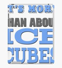 More than About Ice Cubes  iPad Case/Skin