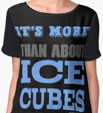 More than About Ice Cubes  Chiffon Top