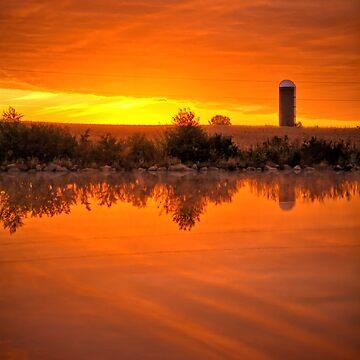 An Autumn Sunrise by LynyrdSky