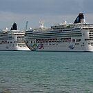 Ships at Miami Port by longaray2