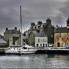 Part of Lerwick Harbour by Larry Davis