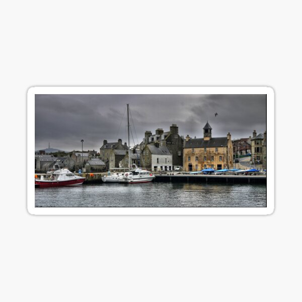Part of Lerwick Harbour Sticker