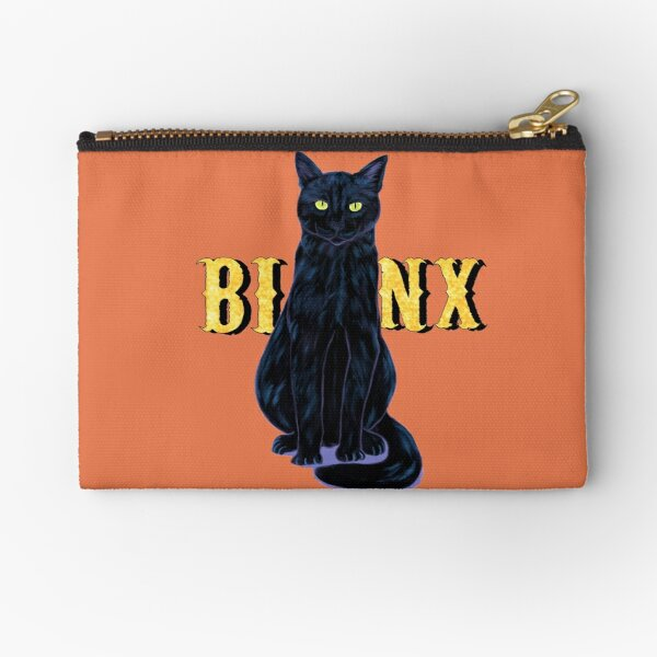 Black Cat Binx Halloween  Zipper Pouch