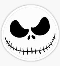 Jack Skellington Nightmare Before Christmas  face Sticker