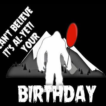 Al-Yeti Your Birthday by Italianricanart