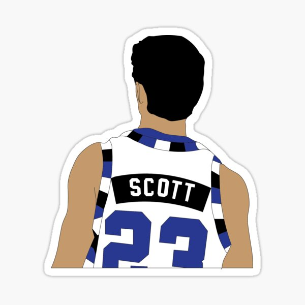 Nathan Scott Basketball Sticker 2 Sticker
