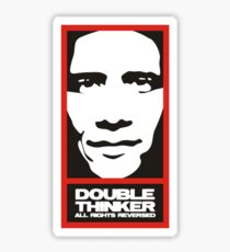 doublethinker Sticker