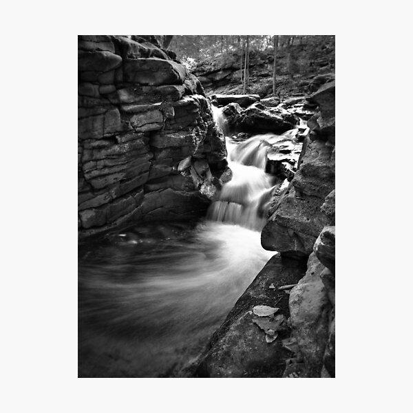 Wispy Cascade Photographic Print