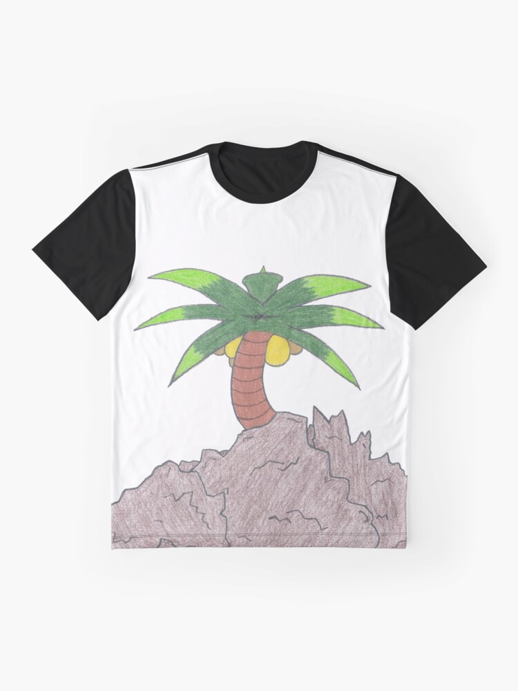 Alternate view of Merch #19 -- Palm Atop The Rugged Embankment Graphic T-Shirt
