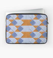 Pastel Coloured Wooden Pattern Laptop Sleeve