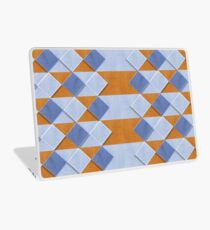 Pastel Coloured Wooden Pattern Laptop Skin