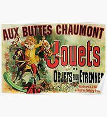 Póster Aux Buttes Chaumont Friends (DOMINIO PUBLICO)