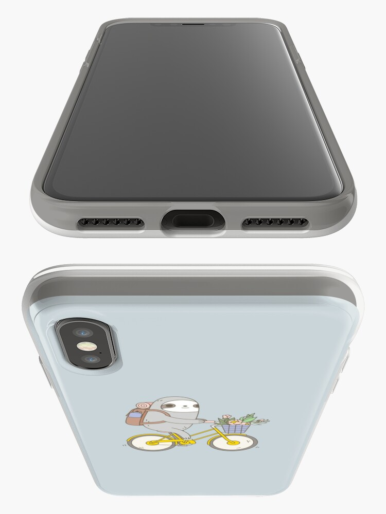 Alternate view of Biking Sloth  iPhone Case & Cover
