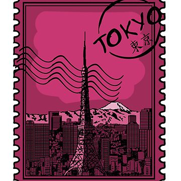 Tokyo Stamp by pda1986
