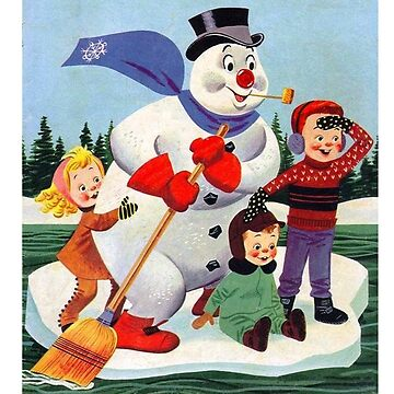 Frosty snowman by GSunrise