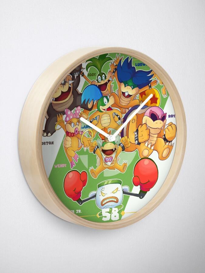 Smash Ultimate 58 Bowser Jr Clock