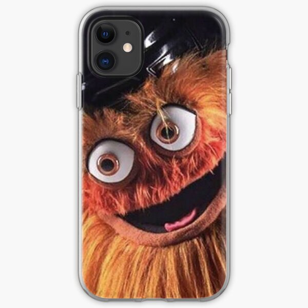 """Flyers New Mascot """"Gritty"""" iPhone Soft Case"""