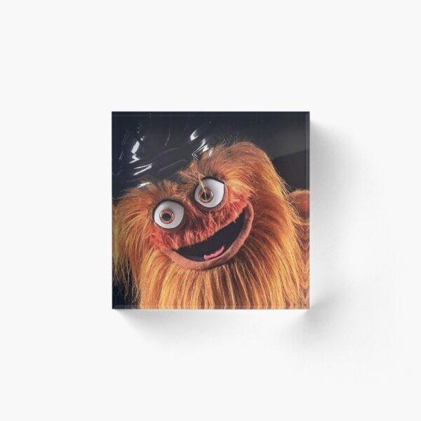 "Flyers New Mascot ""Gritty"" Acrylic Block"