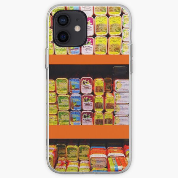 Sardines in the South of France iPhone Soft Case