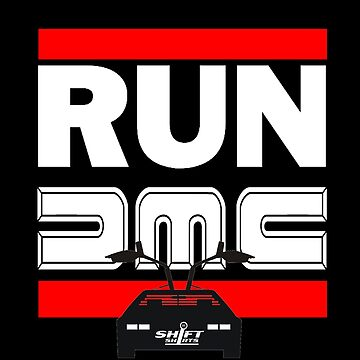 Run Delorean - DMC Inspired by ShiftShirts
