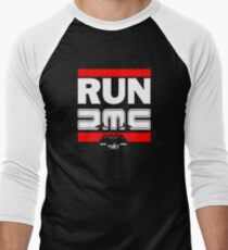 Run Delorean - DMC Inspired Men's Baseball ¾ T-Shirt