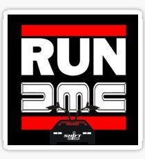 Run Delorean - DMC Inspired Sticker