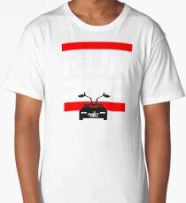 Run Delorean - DMC Inspired Long T-Shirt