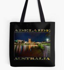 Adelaide Riverbank at Night VI (poster on black) Tote Bag