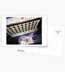 HUNNY the band guitar concert Postcards