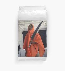 Lil Tracy Orange Hokage Blade Duvet Cover