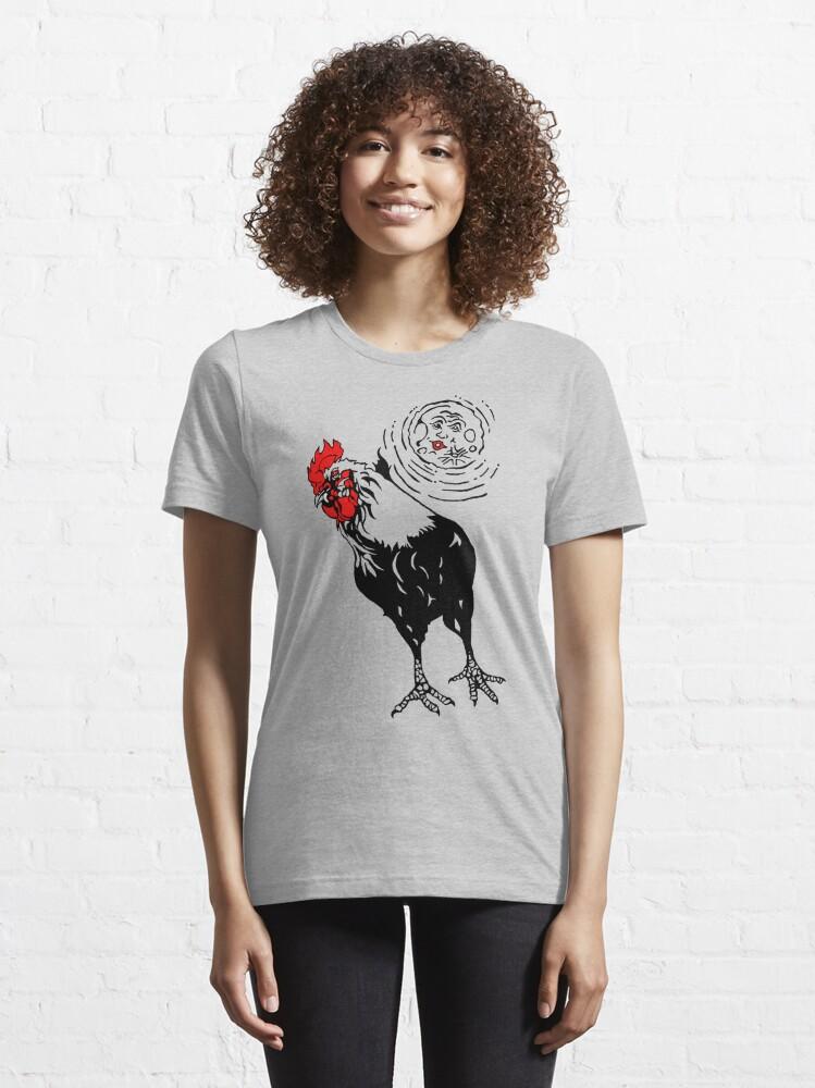 Alternate view of Vampire Chicken Essential T-Shirt