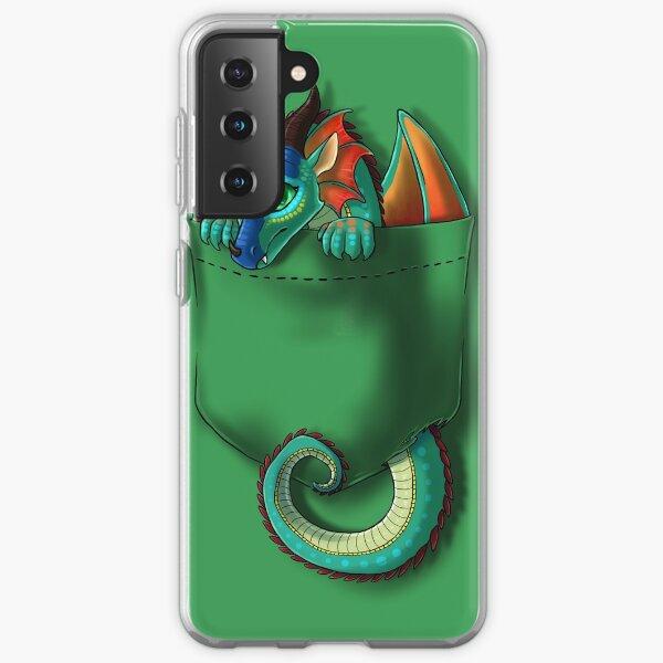 Wings of Fire - Pocket Glory Dragon Samsung Galaxy Soft Case